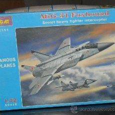 Maquetas: LOTE7815 ICM MIG-31 FOXHOUND ESCALA 1/72. Lote 28011963