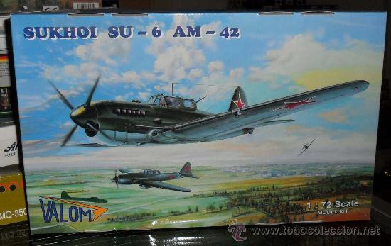 LOTE7808 VALOM 72001 SUKHOI SU-6 AM-42 ESCALA 1/72 (Juguetes - Modelismo y Radio Control - Maquetas - Aviones y Helicópteros)