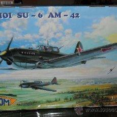 Maquetas: LOTE7808 VALOM 72001 SUKHOI SU-6 AM-42 ESCALA 1/72. Lote 105613156