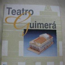 Maquetas: MAQUETA DEL TEATRO GUIMERA NUEVA PARA HACER. Lote 28247839