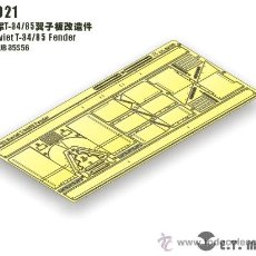 Macchiette: ET MODELETM-E35021SOVIET T-34/85 FENDER (AFV CLUB 35S56). Lote 28577324