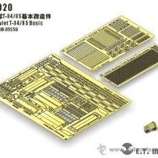 Macchiette: ET MODELETM-E35020SOVIET T-34/85 BASIC (AFV CLUB 35S56). Lote 28577358