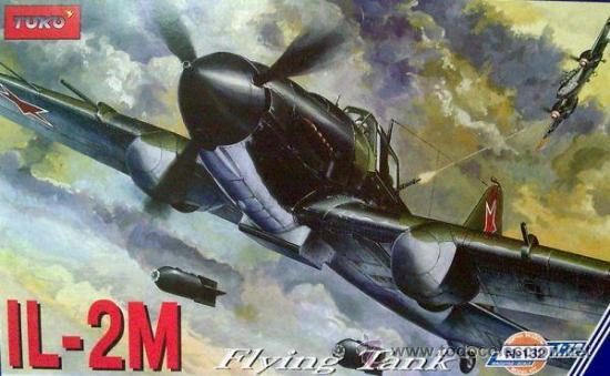 TOKOTOK-132ILYUSHIN IL-2M FLYING TANK (Juguetes - Modelismo y Radio Control - Maquetas - Aviones y Helicópteros)