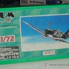 Maquetas: BUM-SPITFIRESUPERMARINE SPITFIRE WWII. Lote 28761486