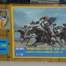 Macchiette: GER MANGER-0011MOUSQUETAIRES À CHEVAL. Lote 28762034