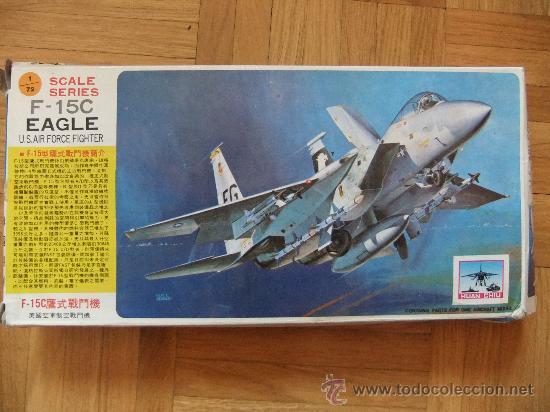 MAQUETA F-15C EAGLE 1/72 (Juguetes - Modelismo y Radio Control - Maquetas - Aviones y Helicópteros)