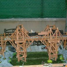Maquetas: PUENTE SOBRE EL RIO KWAI-(EN CONSTRUCCIÓN)-VER FOTOS, MEDIDAS Y FORMA DE PAGO.IDEAL MUSEO DEL CINE.. Lote 52024733