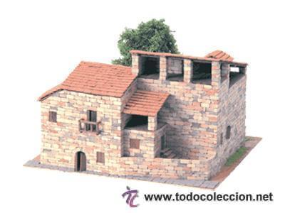 RUSTICAS RECTORIA REF: 40040 MAQUETA CASAS DE CONSTRUCCION DOMUS KITS CASAS ESCALA 1/100- NUEVA (Juguetes - Modelismo y Radiocontrol - Maquetas - Construcciones)