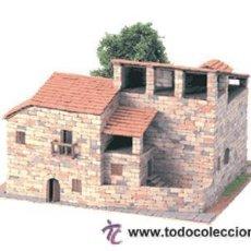 Maquetas: RUSTICAS RECTORIA REF: 40040 MAQUETA CASAS DE CONSTRUCCION DOMUS KITS CASAS ESCALA 1/100- NUEVA. Lote 29527540