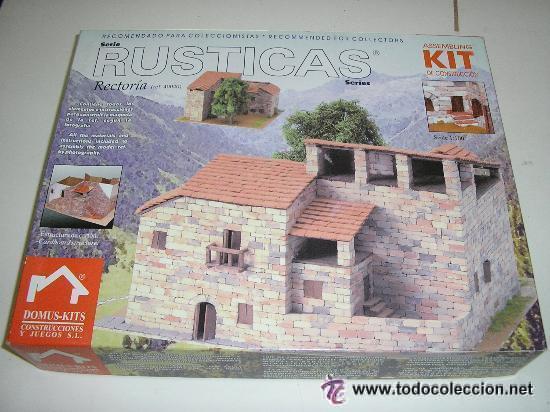 Maquetas: RUSTICAS RECTORIA REF: 40040 MAQUETA CASAS DE CONSTRUCCION DOMUS KITS CASAS ESCALA 1/100- NUEVA - Foto 2 - 29527540