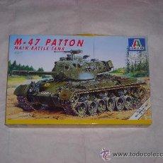 Maquetas: M-47 PATTON MAIN BATTLE TANK TANQUE MAQUETA 1/35 ITALERI - NUEVA A ESTRENAR. Lote 29527943