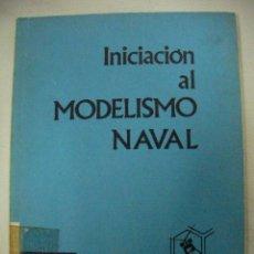 Maquetas: INICIACION AL MODELISMO NAVAL (CG1). Lote 29637734