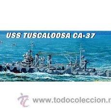 Maquetas: USS TUSCALOOSA CA-37 MAQUETA BARCO ESCALA 1/700 TRUMPETER - ARTICULO NUEVO. Lote 29829602