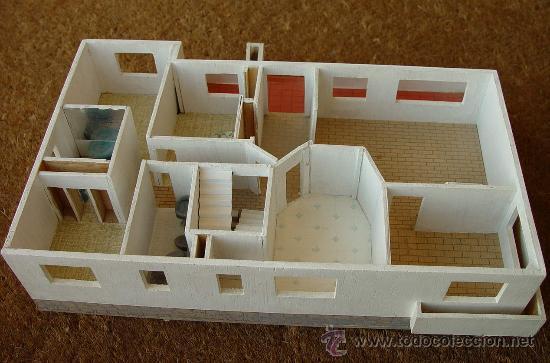 Maquetas: Maqueta en madera de Casa - Chalé...Sanna - Foto 5 - 29910224