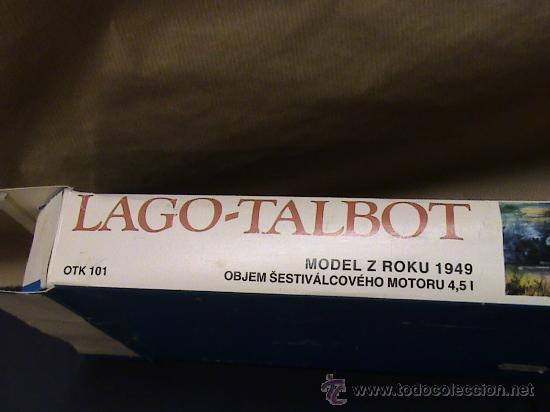 Maquetas: TALBOT LAGO 1949 DE SMER - Foto 4 - 36427883