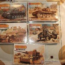 Maquetas: MATCHBOX MAQUETA DE 1/76,HUMBER MKII,PANZER, A ESTRENAR Y TANQUE RUSO T-34. Lote 120377422
