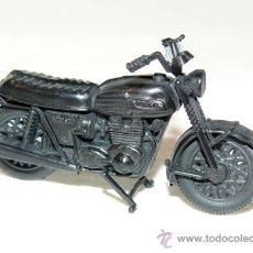 Maquetas: MAQUETA MOTO TRIUMPH TRIDENT MOTORBIKE PROMOCION YOGURES CHAMBURCY CHAMBOURCY BIKE. Lote 172955549