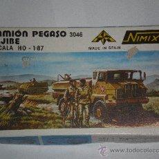 Maquetas: NIMIX CAMION PEGASO 3046 ALGIBE H0 - 1/87. Lote 38517793