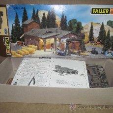 Maquetas: TALLER DE ALMACENAJE O SIMILAR,FALLER,CAJA ORIGINAL,ESC.N. Lote 208044332