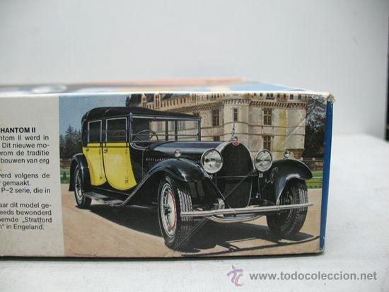 Maquetas: ITALERI REF: 703 - Maqueta de coche para montar Torpedo Cabriolet - Escala 1:24 - Foto 3 - 32113403
