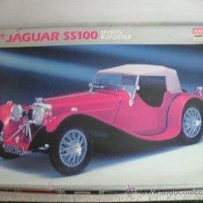 Maquetas: ACADEMY MINICRAFT MODEL KITS - MAQUETA DE COCHE JAGUAR SS100 SPORTS ROADSTER - ESCALA 1:16. Lote 32125205