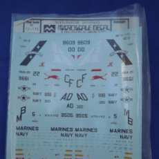 Maquetas: CALCAS PARA AVIONES DE LA MARCA MICROESCALE. Lote 32747912