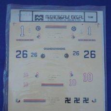 Maquetas: CALCAS PARA AVIONES DE LA MARCA MICROESCALE. Lote 32748728