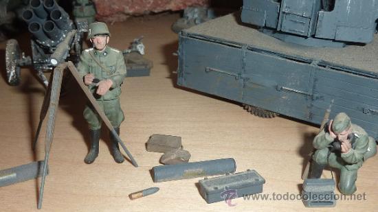 Maquetas: Gran diorama de alemanes segunda guerra mundial en 1:35. Pintados a mano perfectos. - Foto 2 - 33052745
