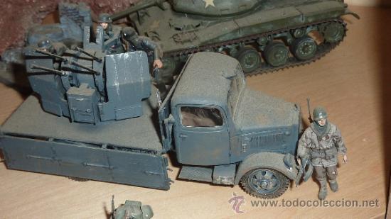 Maquetas: Gran diorama de alemanes segunda guerra mundial en 1:35. Pintados a mano perfectos. - Foto 3 - 33052745
