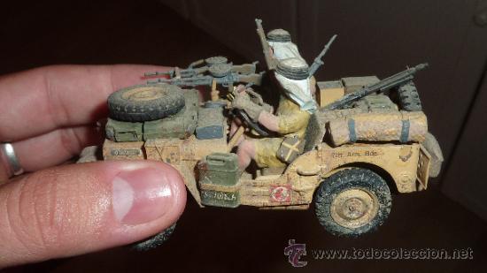 Maquetas: Gran diorama de alemanes segunda guerra mundial en 1:35. Pintados a mano perfectos. - Foto 11 - 33052745