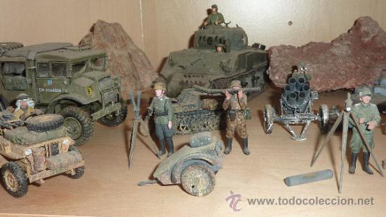 Maquetas: Gran diorama de alemanes segunda guerra mundial en 1:35. Pintados a mano perfectos. - Foto 13 - 33052745