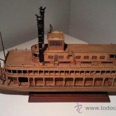 Maquetas: MAQUETA DE BARCO KING OF MISSISSIPI. Lote 33062555