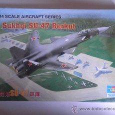 Maquetas: MAQUETA SUKHOI SU-47 BERKUT 1:144 TRUMPETTER . Lote 33513086