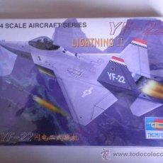 Maquetas: MAQUETA YF-22 LIGHTNING II 1:144 TRUMPETER . Lote 33513121