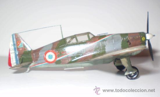 MORANE SAULNIER MS-406 C1. FRANCIA. ESCALA 1/72 (Juguetes - Modelismo y Radio Control - Maquetas - Aviones y Helicópteros)