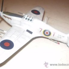 Maquetas: HAWKER HURRICANE MK.IIC. ROYAL NAVY. ESCALA 1/72. Lote 33692471