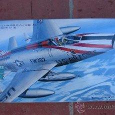 Maquettes: MAQUETA DE AVIÓN SUPER SABRE - HASEGAWA - ESC. 1/72. Lote 35365352