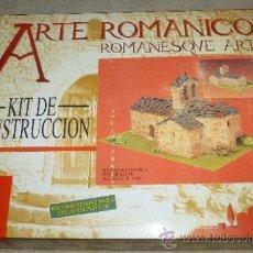 Maquetas: IGLESIA ROMÁNICA DEL SIGLO XI - REF 40075 - DOMUS-KITS - ARTE ROMÁNICO. Lote 36064154