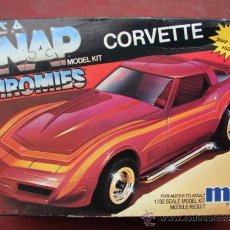 Maquetas: MAQUETA SNAP MODEL KIT CORVETTE - MPC E.R.T.L. 6446 - ESCALA 1/32. Lote 36329772