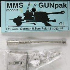Maquetas: MAQUETA MMS 1/76 8,8CM PAK 43 1943-45 #G1. Lote 36550038