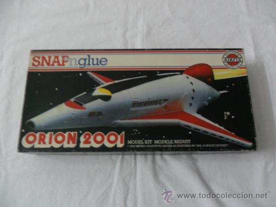 ORION 2001 SPACECRAFT SNAP NGLUE 1/144 AIRFIX REF 05175-8 VINTAGE AÑO 1980 (Juguetes - Modelismo y Radiocontrol - Maquetas - Otras Maquetas)