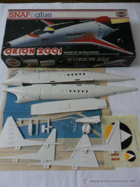 Maquetas: ORION 2001 SPACECRAFT SNAP nglue 1/144 AIRFIX Ref 05175-8 VINTAGE AÑO 1980 - Foto 2 - 36871191