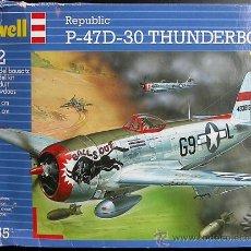 Maquetas: MAQUETA REVELL 1/72 REPUBLIC P-47D-30 THUNDERBOLT #04155. Lote 28731078