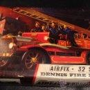 Maquetas: MAQUETA COCHE CAMION DE BOMBEROS AIRFIX DENNIS FIRE ENGINE AÑOS 60. Lote 45210225