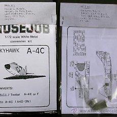 Maquetas: MAQUETA NOSEJOB 1/72 DOUGLAS A-4C SKYHAWK. Lote 28748737