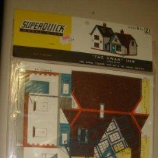 Maquetas: SUPERQUICK. SERIE B. Nº 21. THE SWAN INN. Lote 37452055