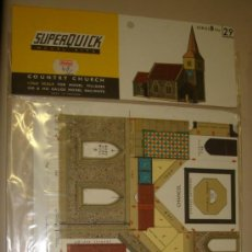 Maquetas: SUPERQUICK. SERIE B. Nº 29. COUNTRY CHURCH. Lote 37452108