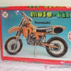 Maquetas: MOTO KIT DE EDUCA - MODELO KAWASAKI. TENGO 3 MODELOS DISPONIBLES.. Lote 37626133