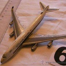 Maquetas: MAQUETA METAL AVION SINGAPURE AIRLINES - ENVIO GRATIS A ESPAÑA. Lote 47554779