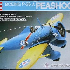 Maquetas: MAQUETA REVELL 1/72 BOEING P-26A PEASHOOTER #4117. Lote 57197722